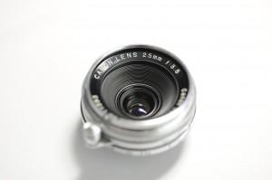 キヤノン レンズ 25mm f3.5