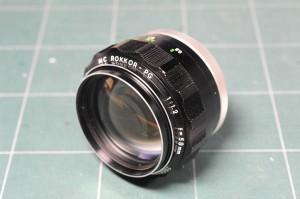 ミノルタ MCロッコール-PG 58mm f1.2