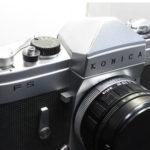konica(コニカ)FSの修理。巻上げ不良です。