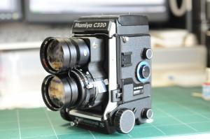 マミヤ セコール180mm f4.5スーパー