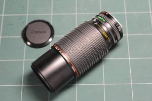 キヤノン NFD 80-200mm f4