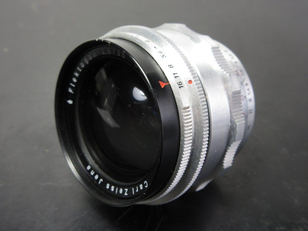 カールツァイスイエナ フレクトゴン 35mm / f2.8の修理